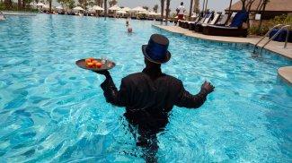 la plej riĉaj Afrikanoj - hotelo Ritz Carlton in Ganao